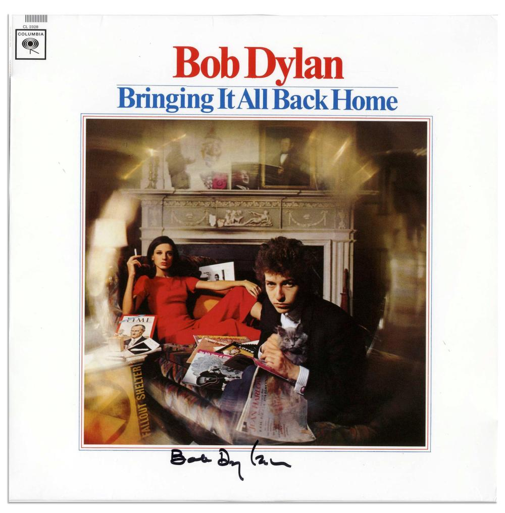 "Bob Dylan ""Bringing It All Back Home"" with Jeff Rosen COA"