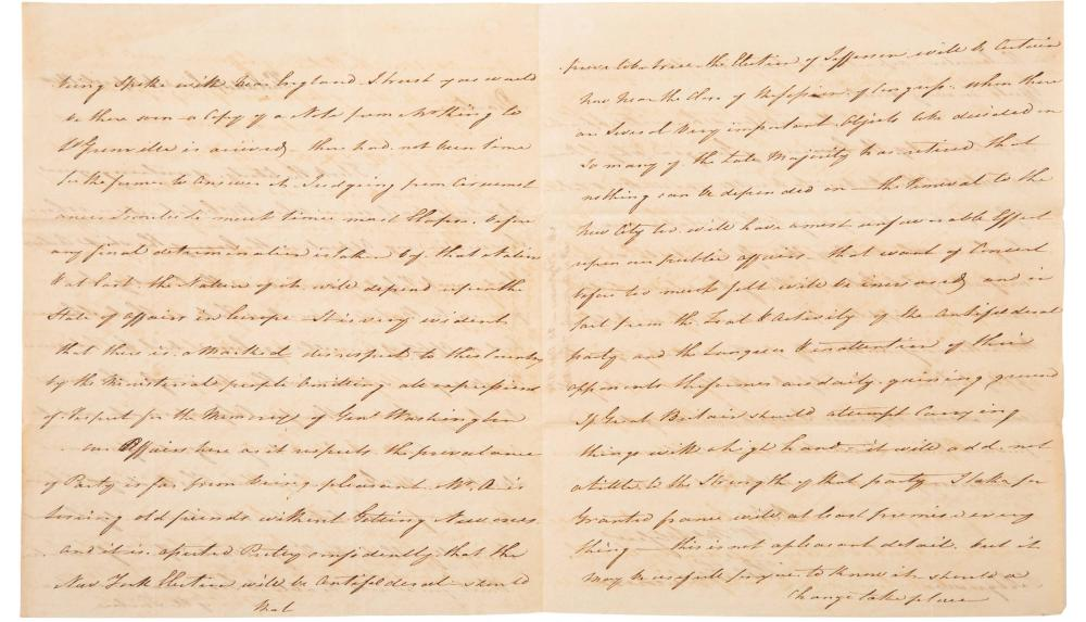 Fitzsimons Writes Just After Death George Washington, Feelings in England