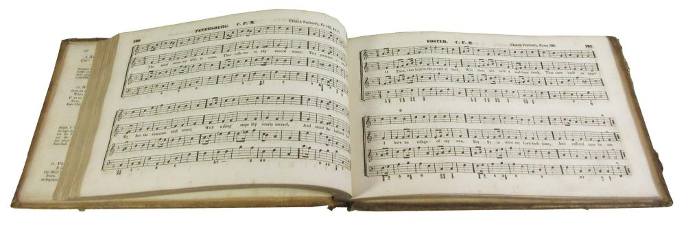 Church Lady: Caroline Fillmore's Personally Owned Book of Protestant Music