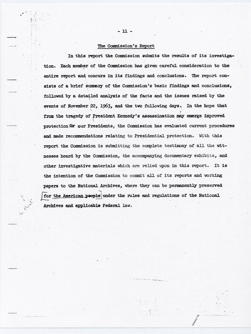 G. Ford Signed Warren Commission Draft, Ex-Forbes