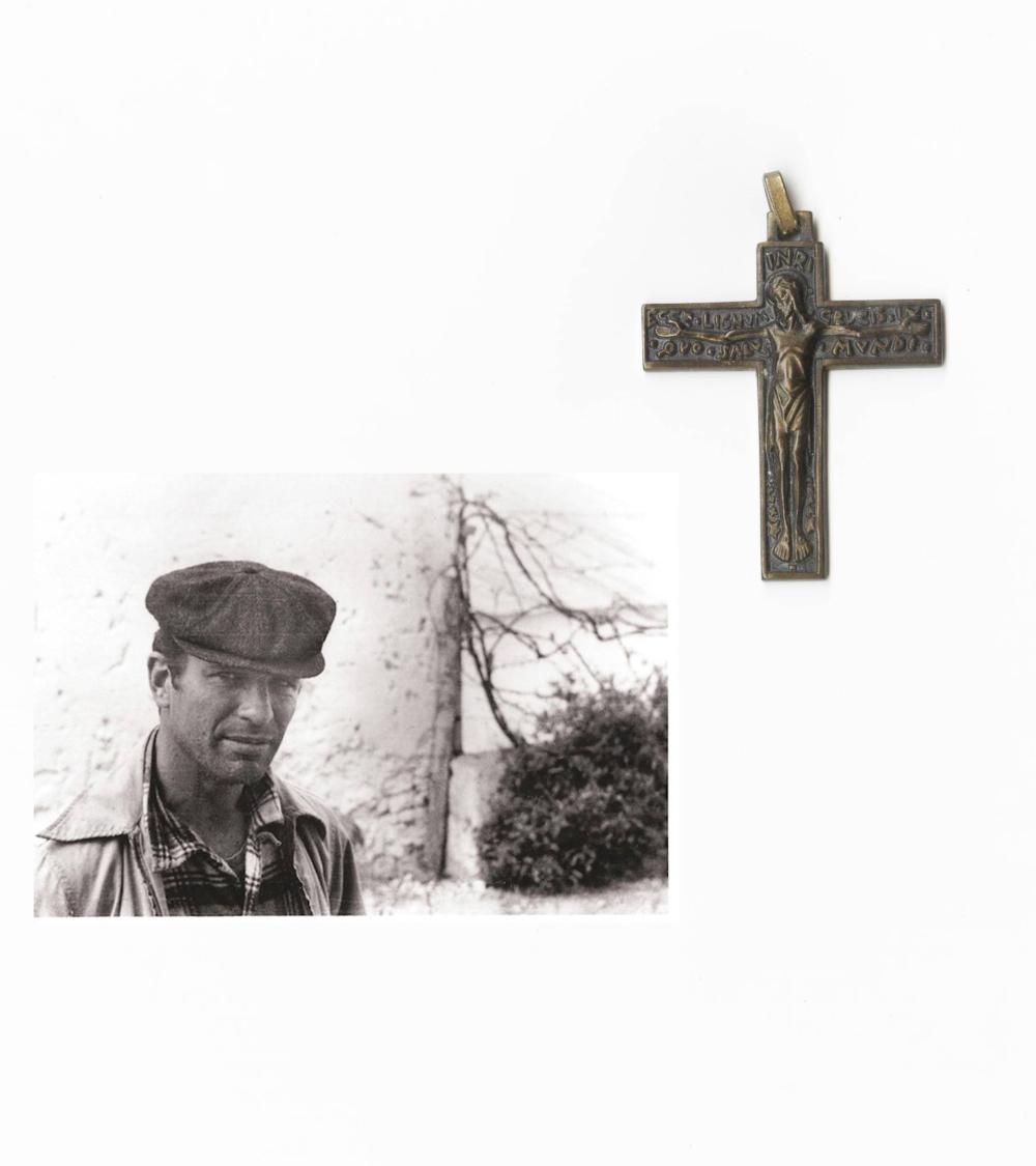 Jack Kerouac's Personally Owned Cross, Outstanding Provenance
