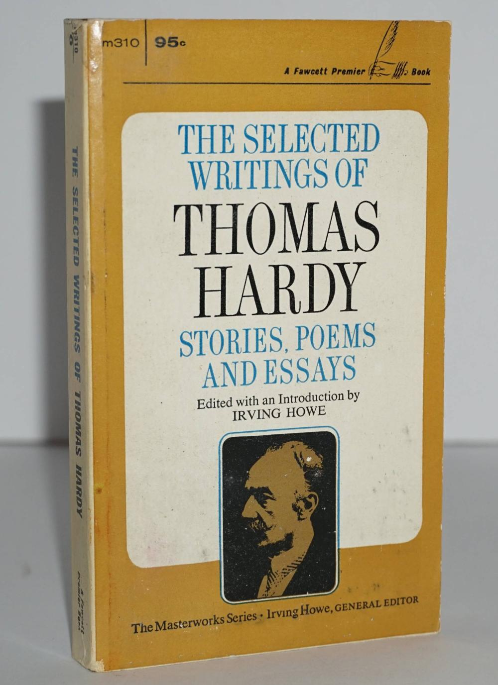 """Kerouac Personally Owned Book """"The Selected Writings of Thomas Hardy"""" with Estate Provenance"""