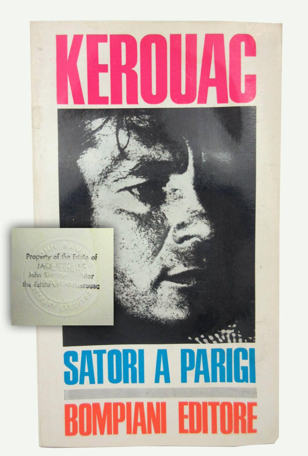 """Jack Kerouac's Personally Owned Italian Translation of """"Satori in Paris"""", With Superb Provenance"""