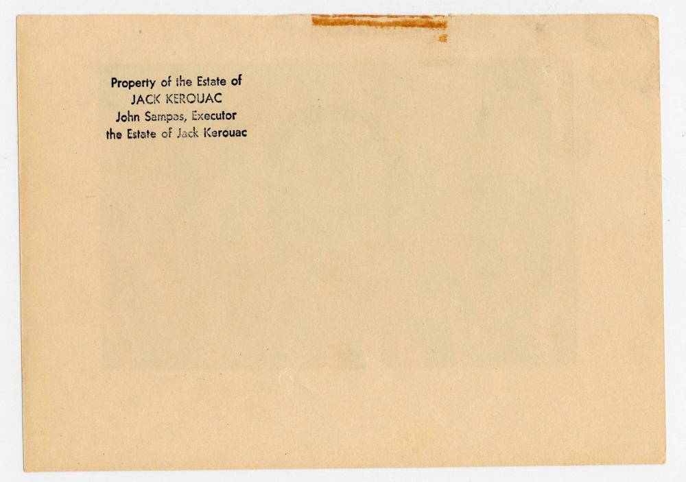 Jack Kerouac's Wall Art, Reflecting his Interest in Art History