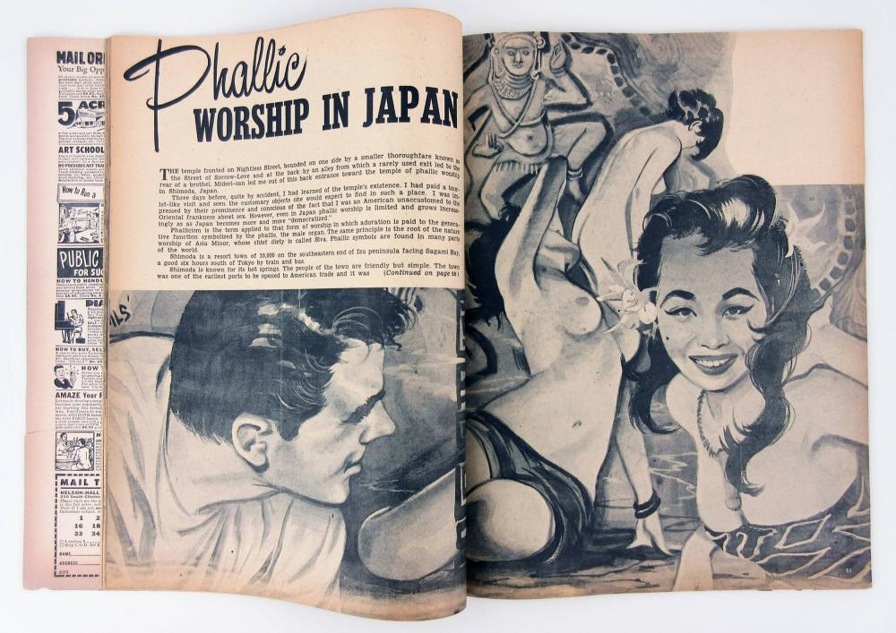 Jack Kerouac's Personally Owned Vintage Pulp Magazines, Estate Certified