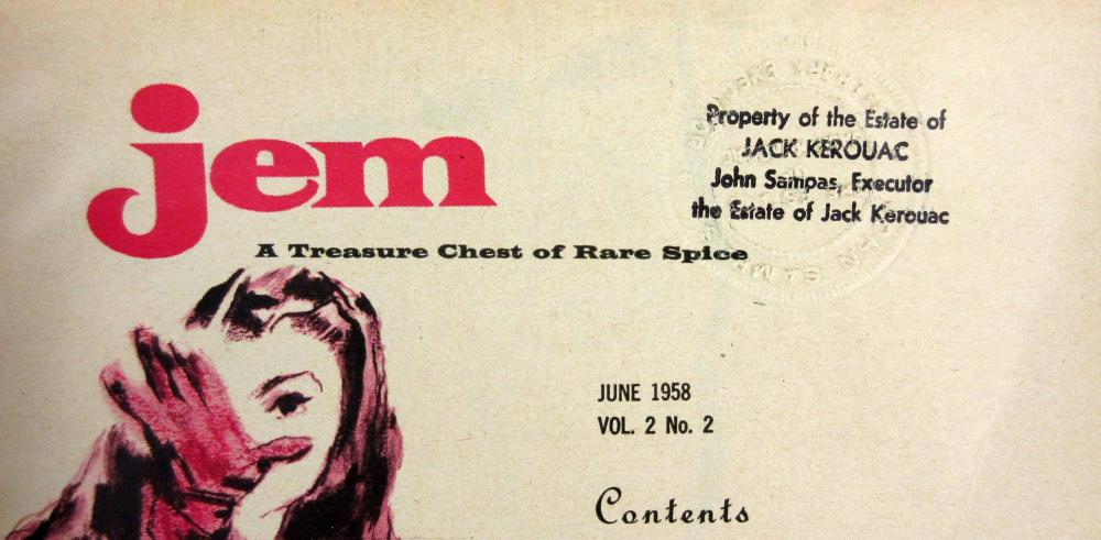 Jack Kerouac's Personally Owned Men's Magazines, with Superb Provenance