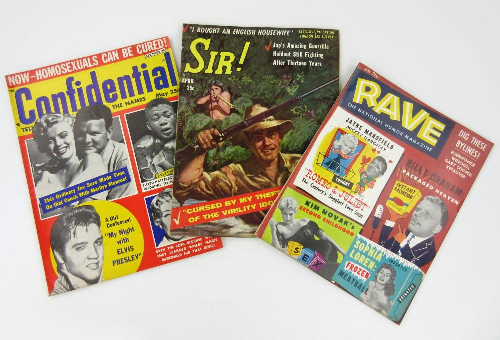Smut! Jack Kerouac's Personally Owned Vintage Rags