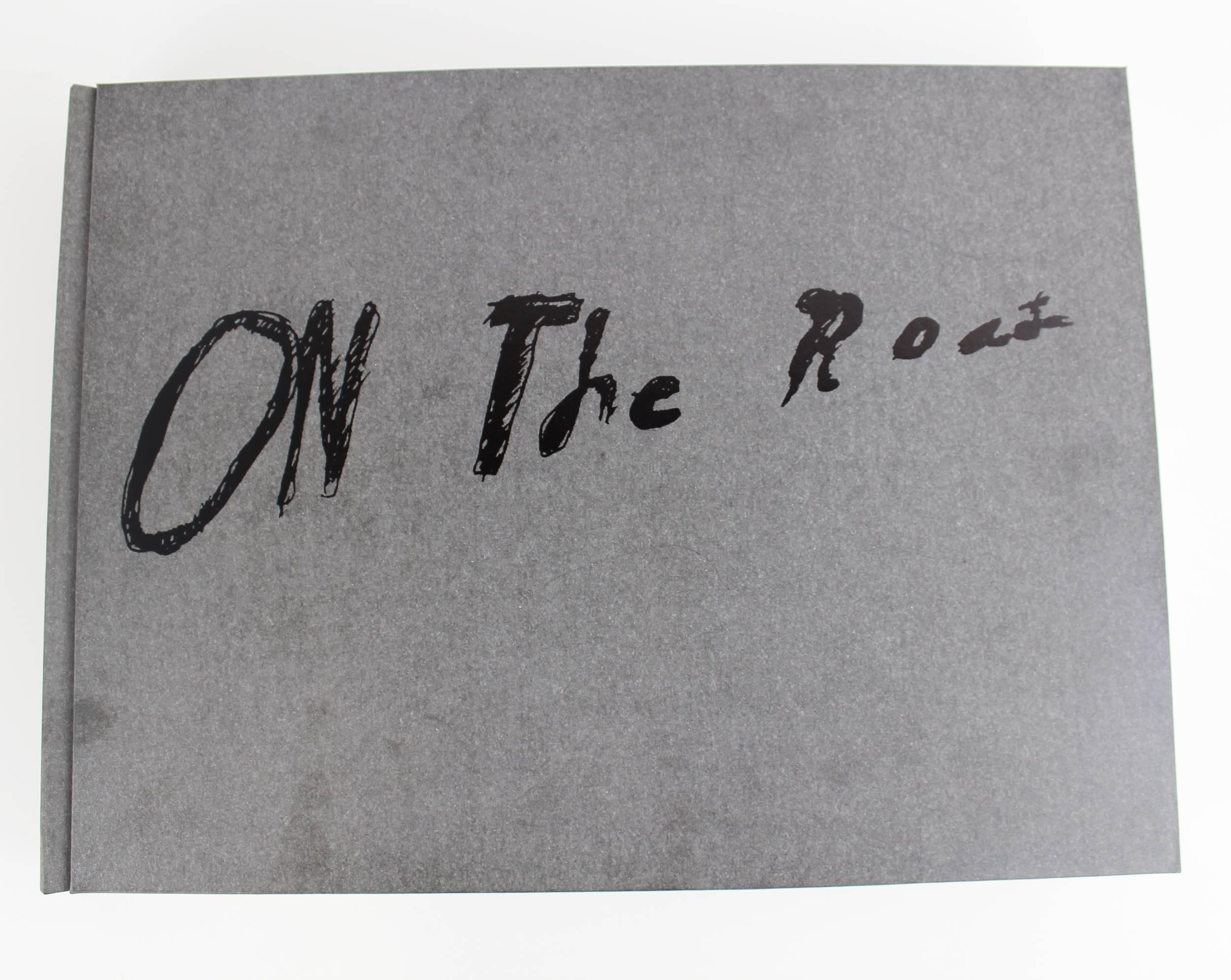 On the Road, Ed Ruscha's Masterpiece Huge Book of the Classic Novel by Jack Kerouac, Estate Owned