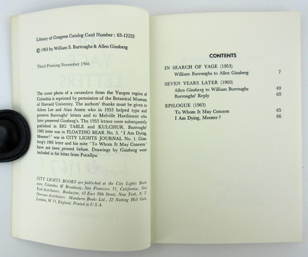 A. Ginsberg Signed