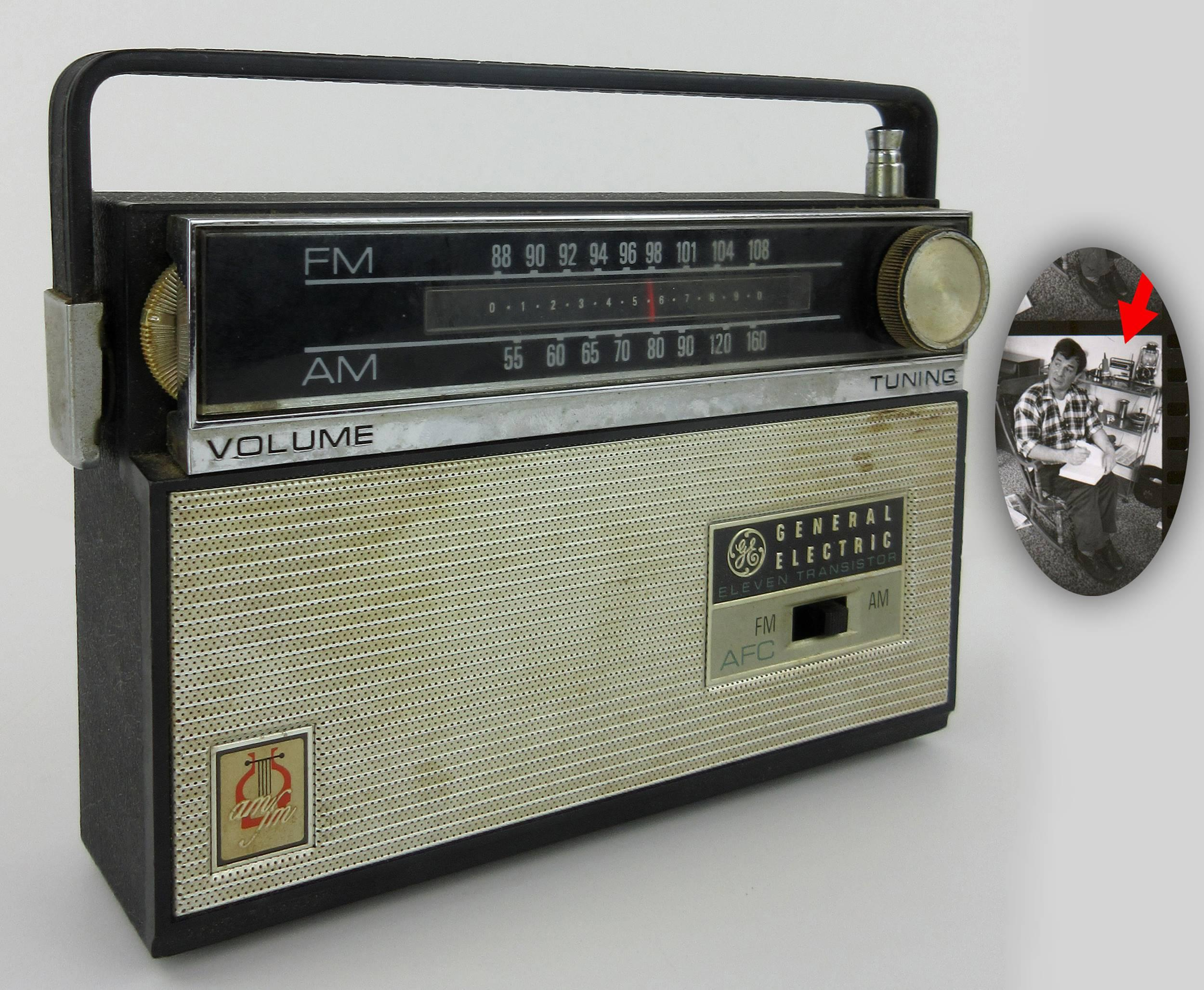 Jack Kerouac's Personally Owned Vintage Portable Radio, ca. 1965-1966