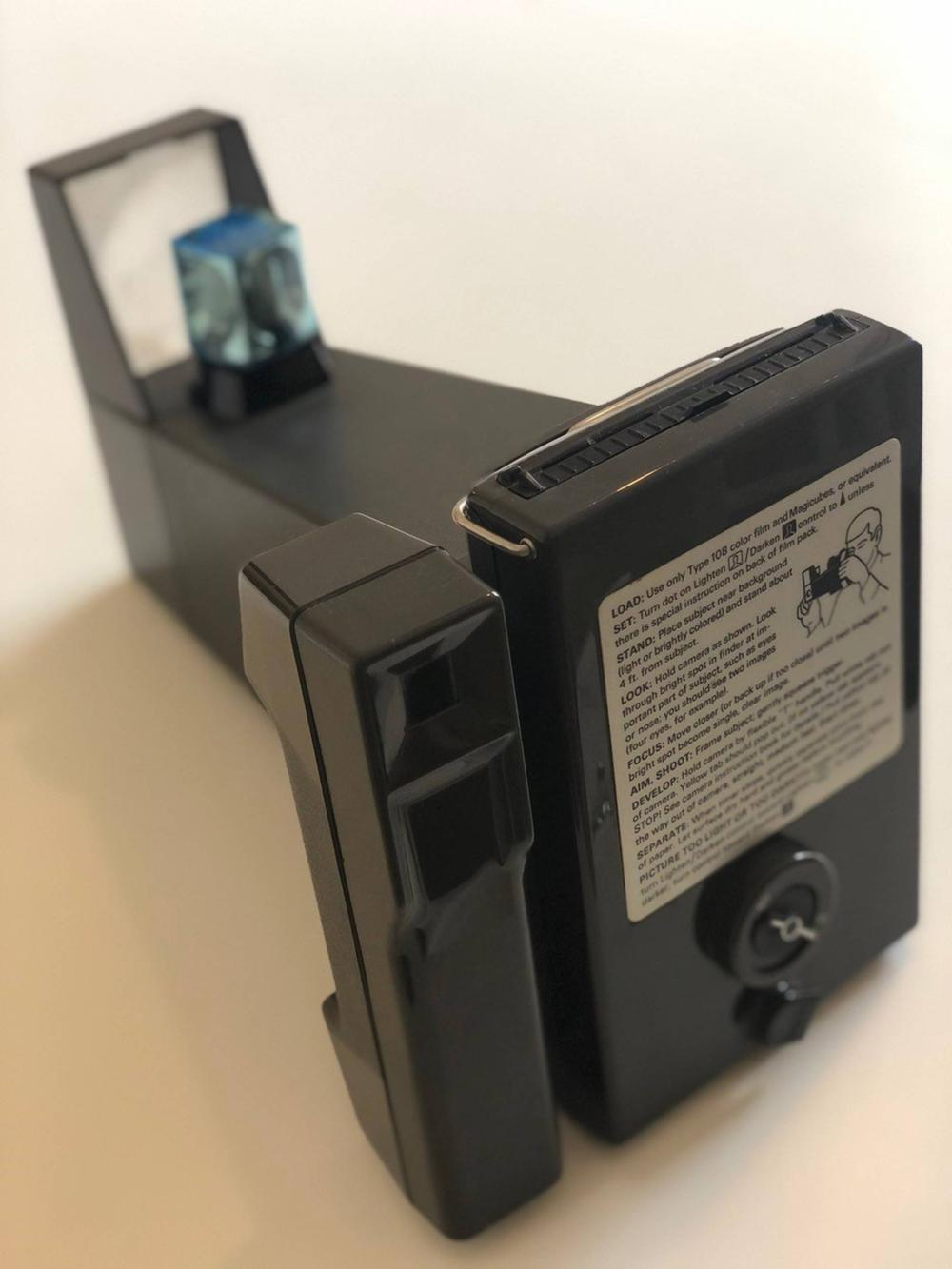 Andy Warhol's Personally Owned Iconic Polaroid Big Shot Camera W. Superb Provenance