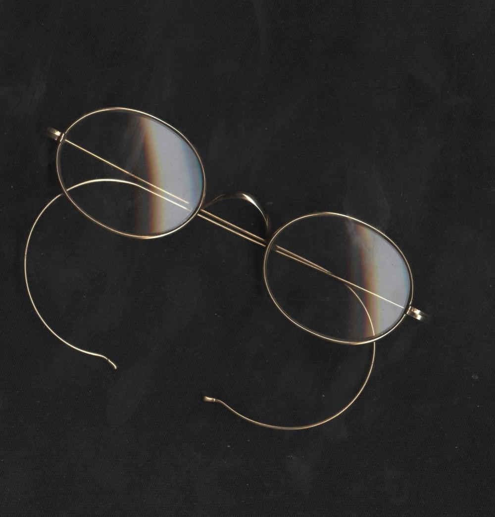 Andy Warhol's Personally Owned Wire Rim's, by T.T. Johnson. W. Superb Provenance