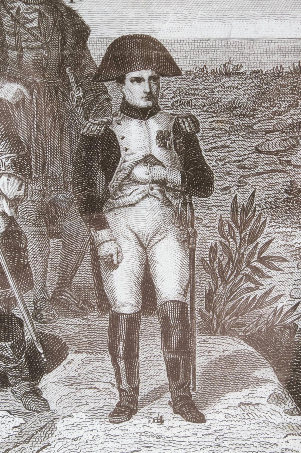 "A Superb Historical Engraving Depicting History's ""Principle Great Men"""