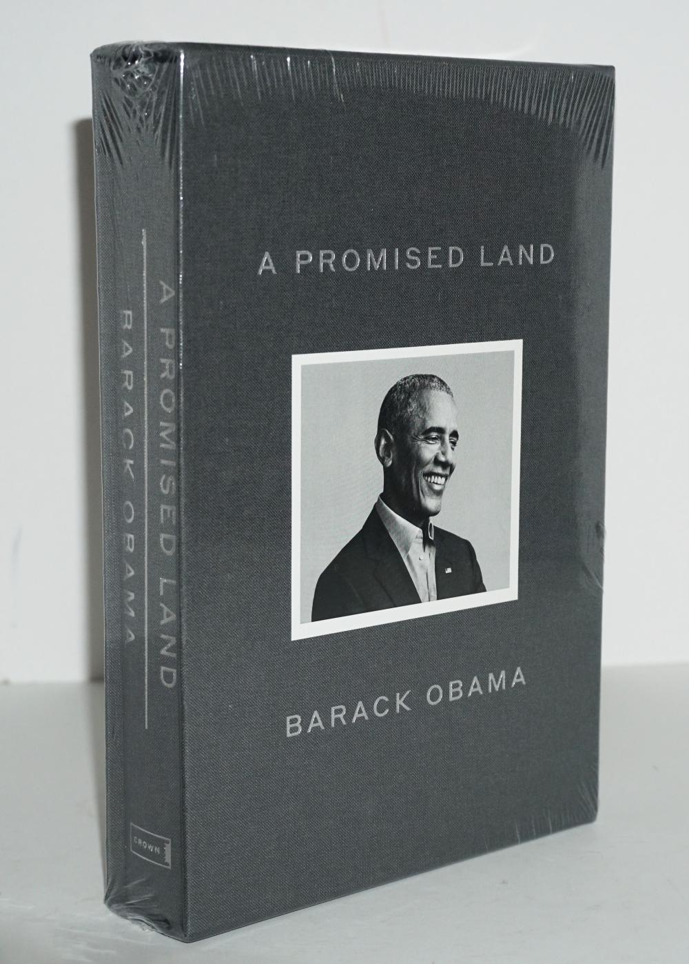 A Promised Land, Barack Obama Signed Deluxe Edition