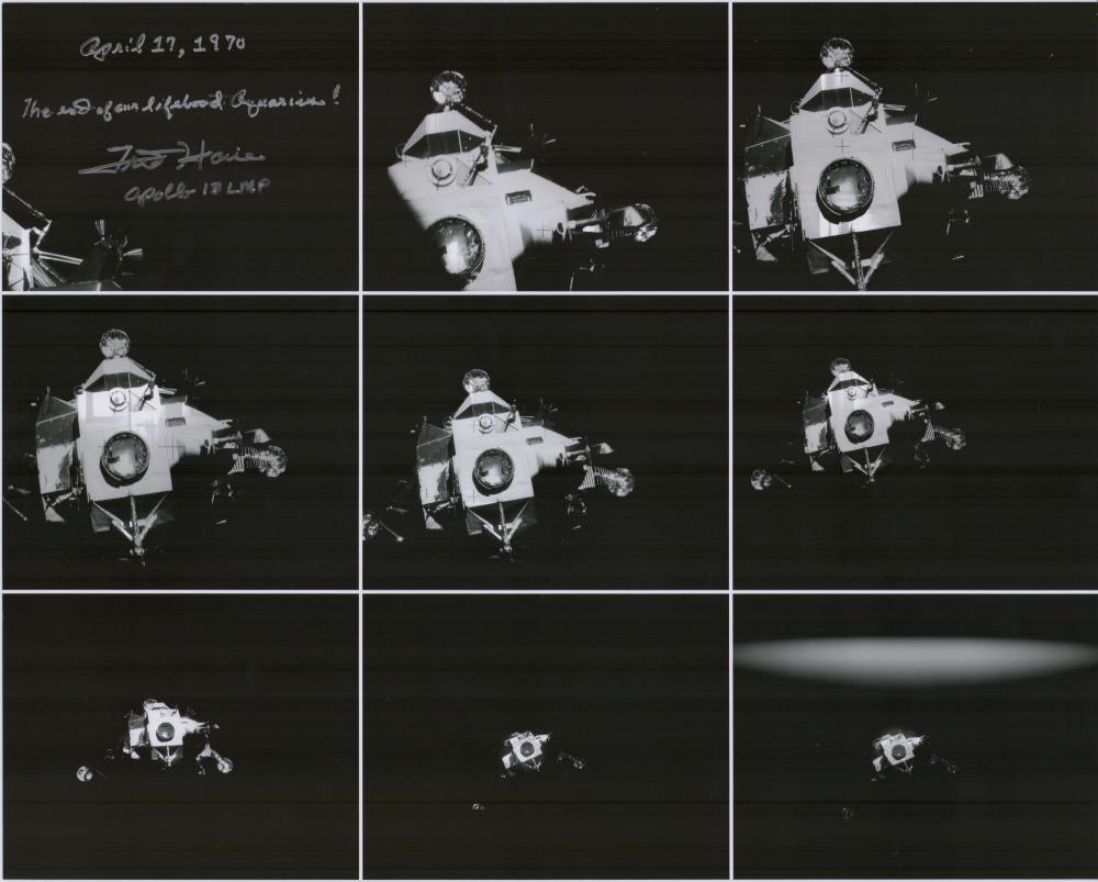 Fred Haise Signed Apollo 13 Photo