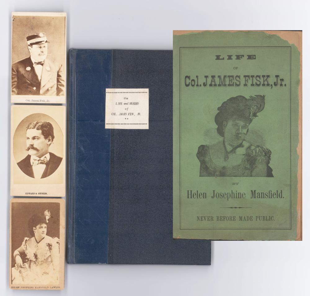 Life of Col. James Fisk , Jr. by Mistress Helen Mansfield
