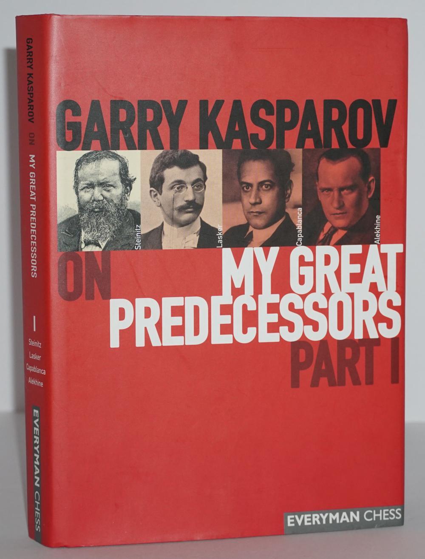 "Garry Kasparov Signed ""My Great Predecessors"""