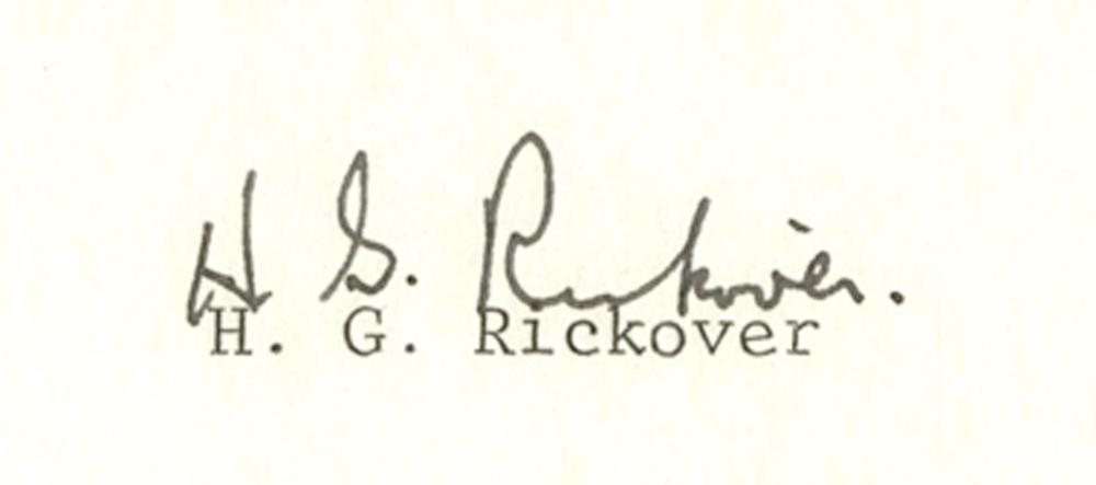 Notable Naval Persons Group: Bancroft, Byrd, and Rickover