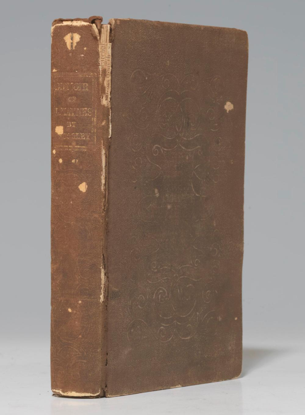 First Edition Biography of Rev. Lemuel Haynes, Signed by John Brown, About an African American Minuteman, First to Lead a White Church