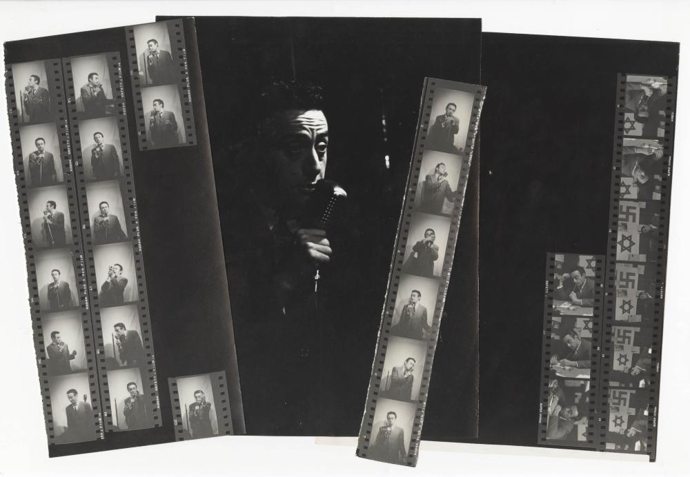 Lenny Bruce Trail Blazer for 1st Amendment, Archive of 4 Photographic Prints, Probably Unpublished