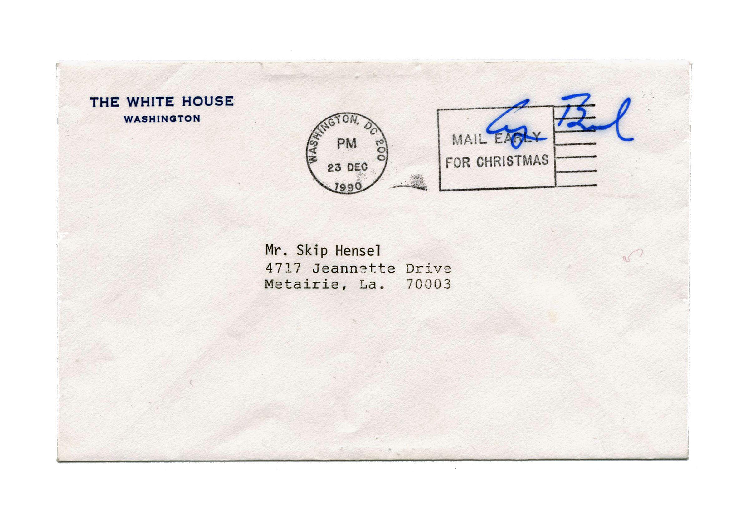 George H.W. Bush Presidential Free Frank
