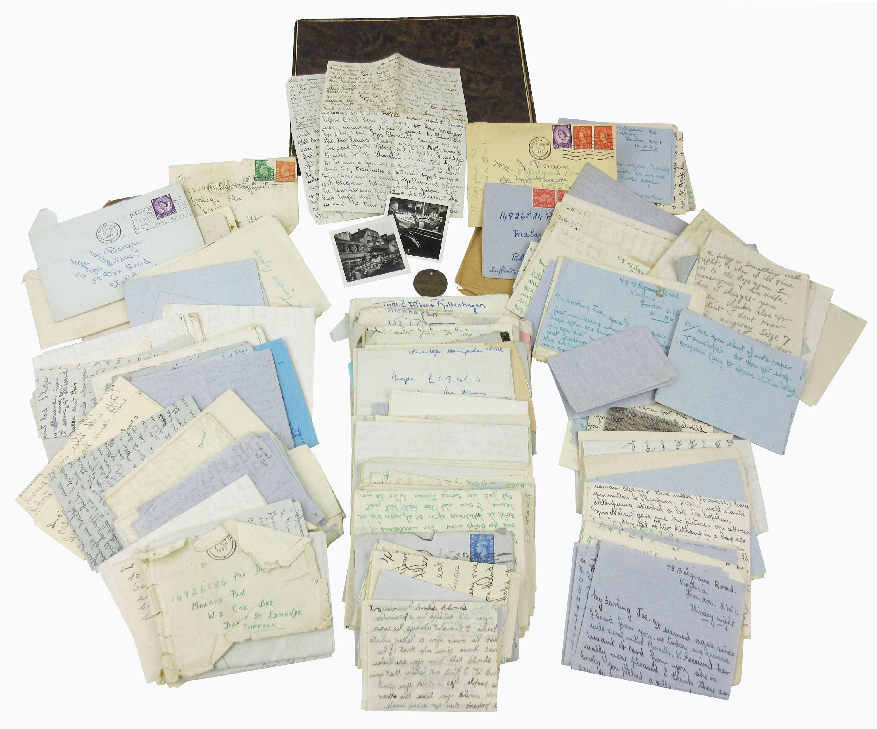 "Winston Churchill's Cleaning Lady: World War II-era Archive of 140+ Letters Referring to ""Mr. C"""
