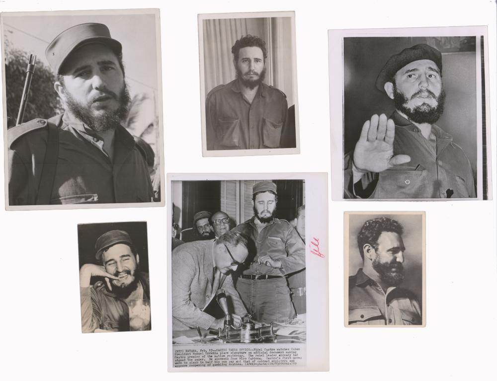 Castro and Cuban Revolution Archive of 8 pieces