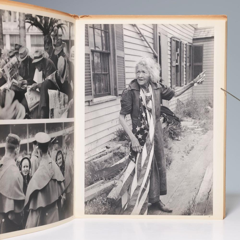 "Cartier-Bresson's ""Images A La Sauvette"" Inscribed to Legendary Fashion Designer Balenciaga, Rare First Presentation"