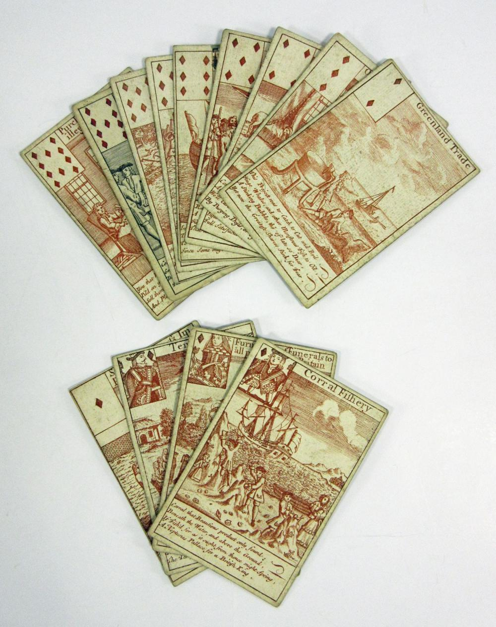 World's Most Important and Valuable Deck of Cards?! 1720 South Sea Bubble Playing Cards
