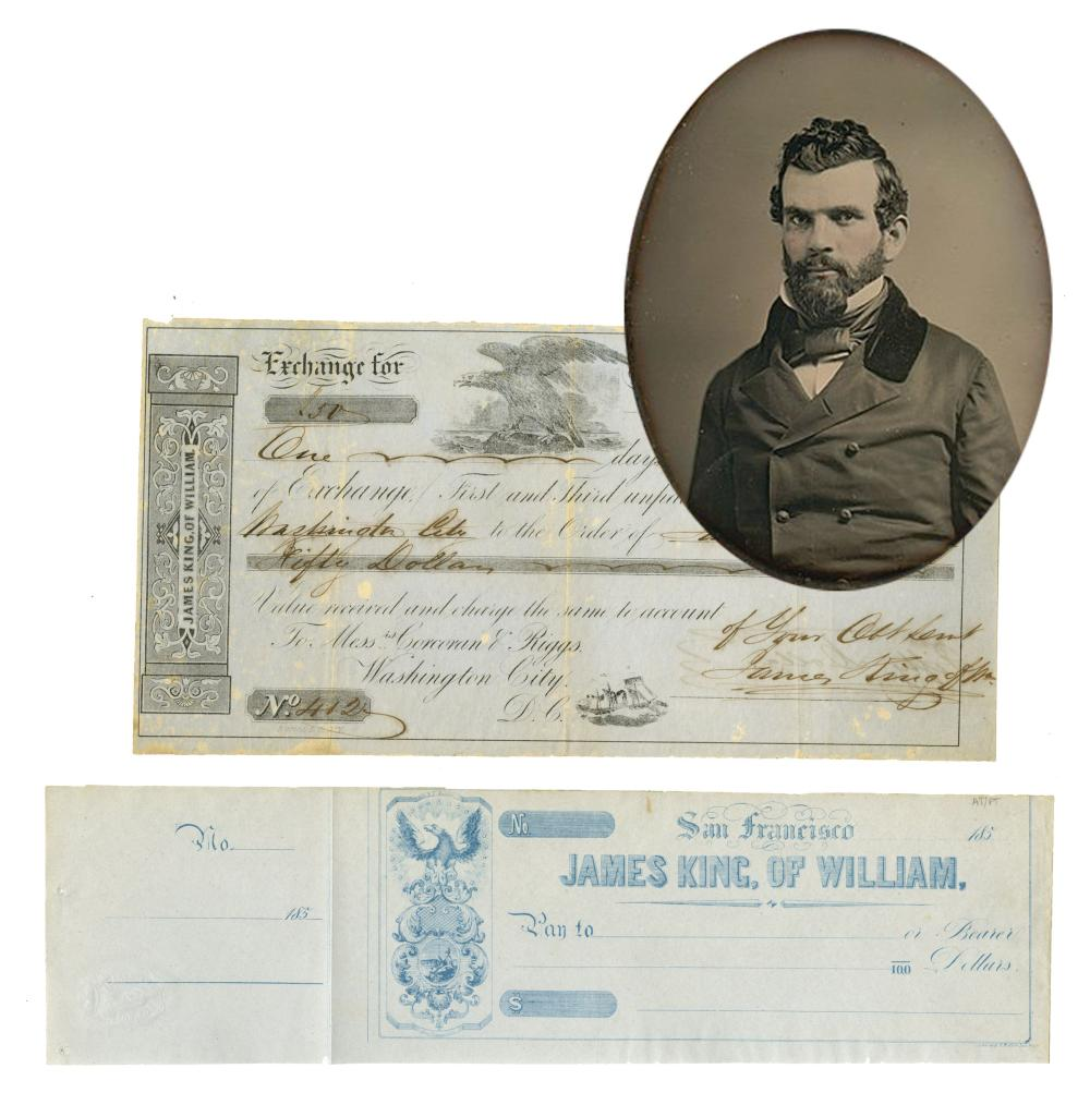 San Francisco Miner James King - Assassinated in 1850 - 2 Items