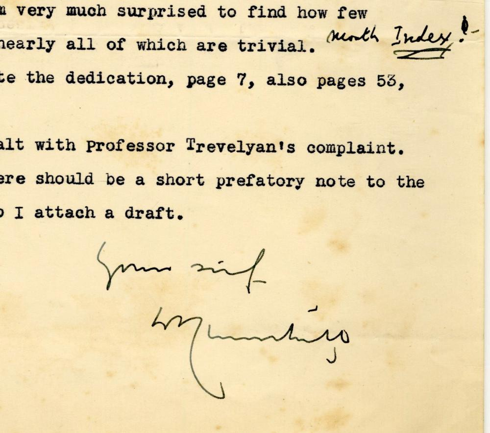 Winston Churchill Confers with Proofreader on Biography of His Ancestor