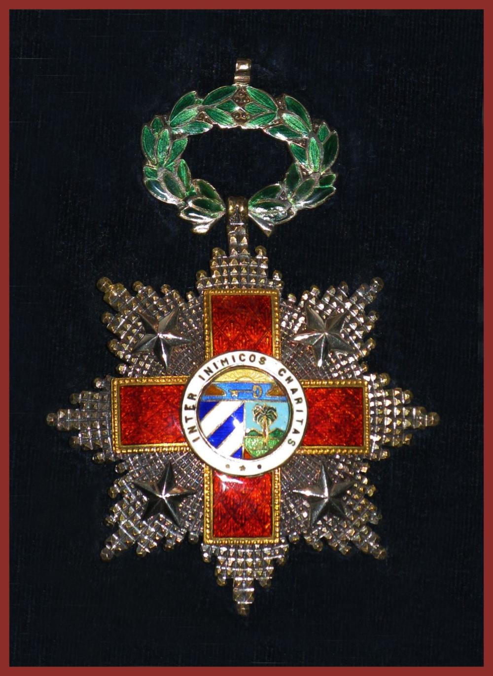 "McNamara's Ornate ""Order of the Cuban Red Cross First Class"" Undoubtedly Presented to him for his Crucial Role as Secretary of Defense in the Aftermath of the Bay of Pigs Invasion"