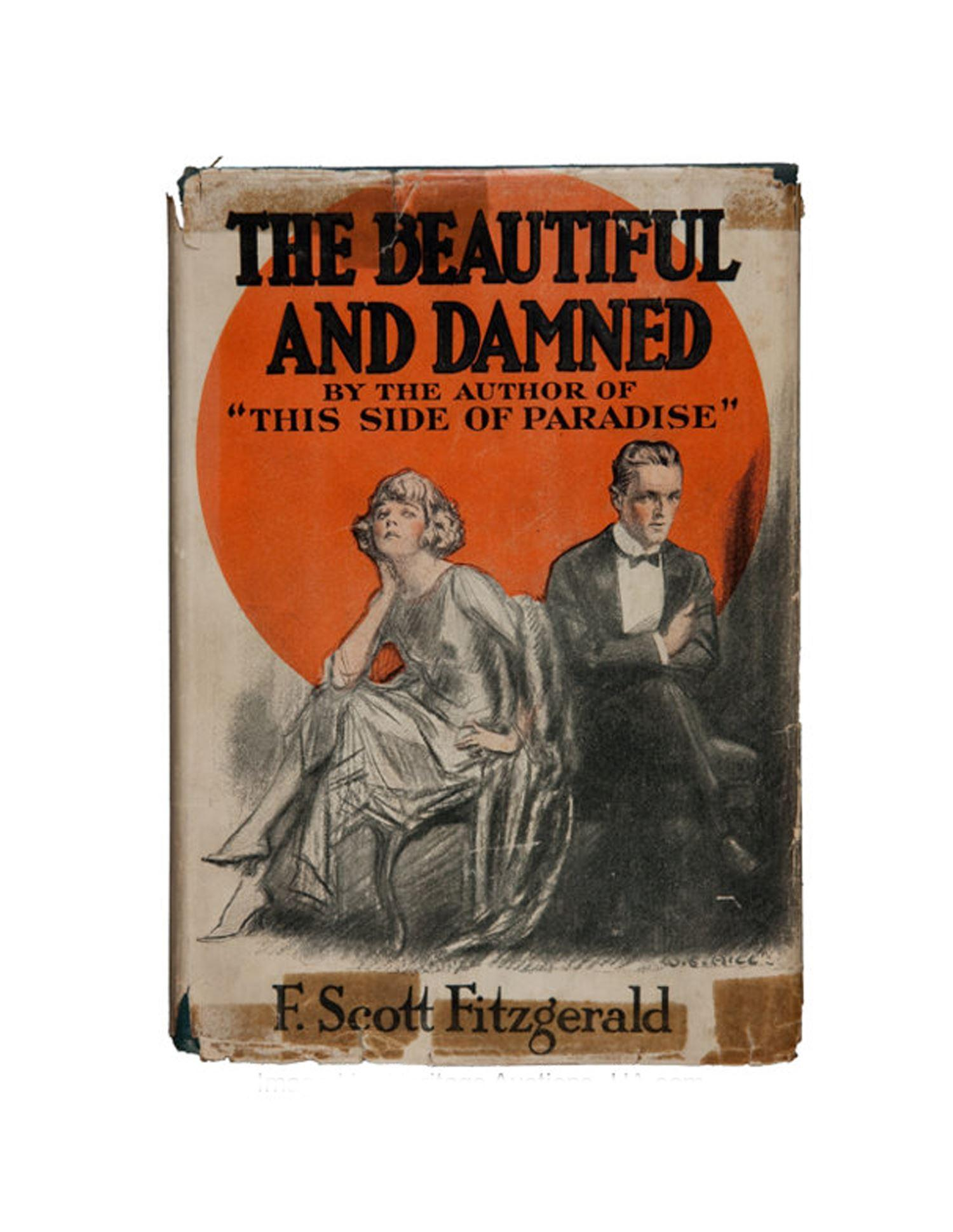 "F. Scott Fitzgerald, ""The Beautiful and Damned"", First Edition, First Printing"