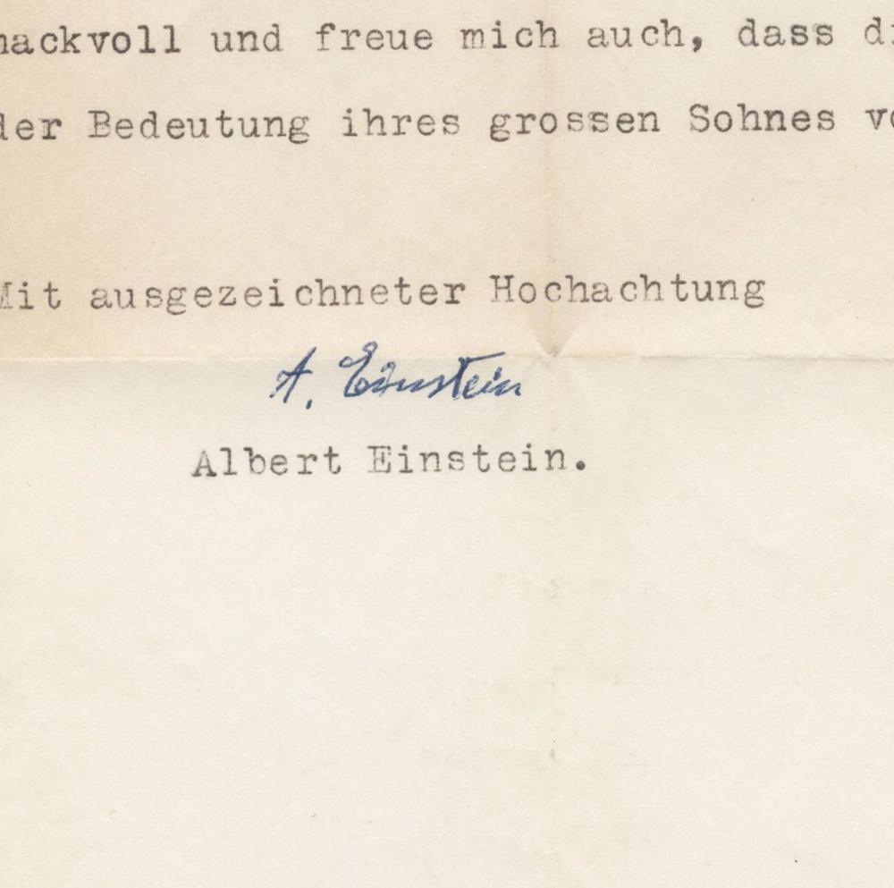 """Einstein on Hendrick Lorentz, Arnhem's """"great son"""""""