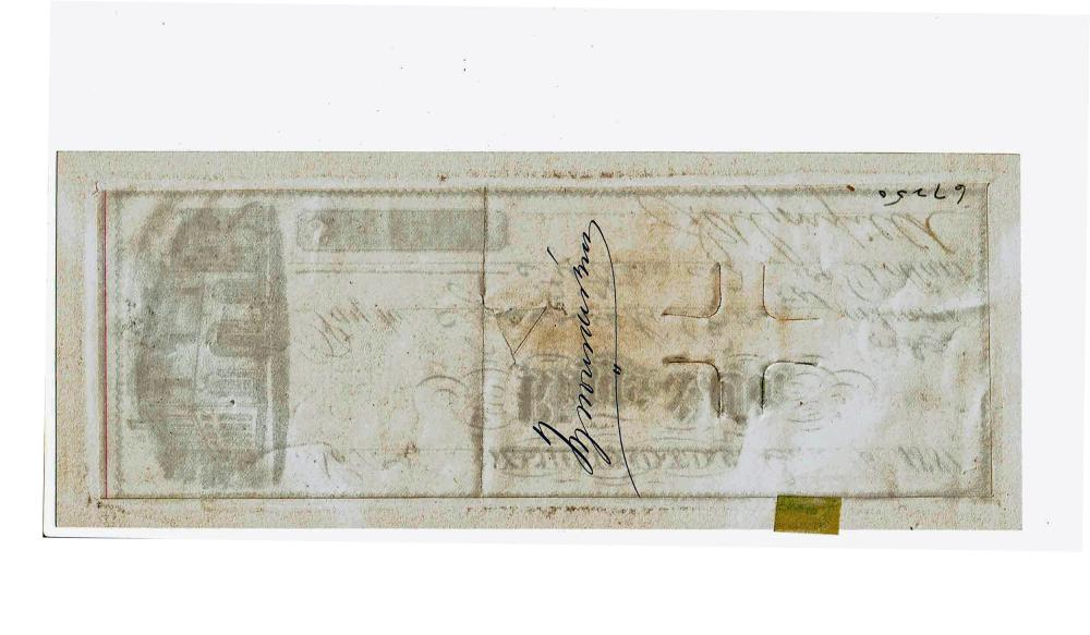 James Garfield Signed Check as President, One of Only Two Known, Ex-Sang