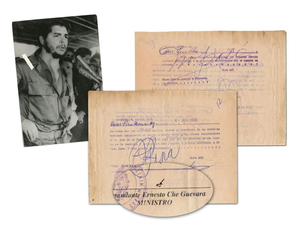 Che Guevara Superb DS and Vintage Photo
