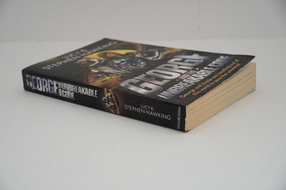 "Stephen Hawking Signed Book ""George and the Unbreakable Code"""