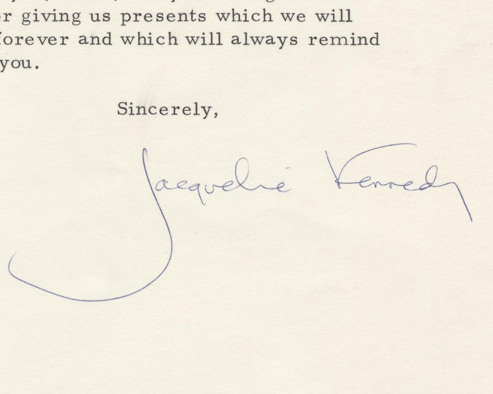 """Jacqueline Kennedy Gets a Cookbook """"One Day Caroline and John will be Gourmet Cooks"""""""