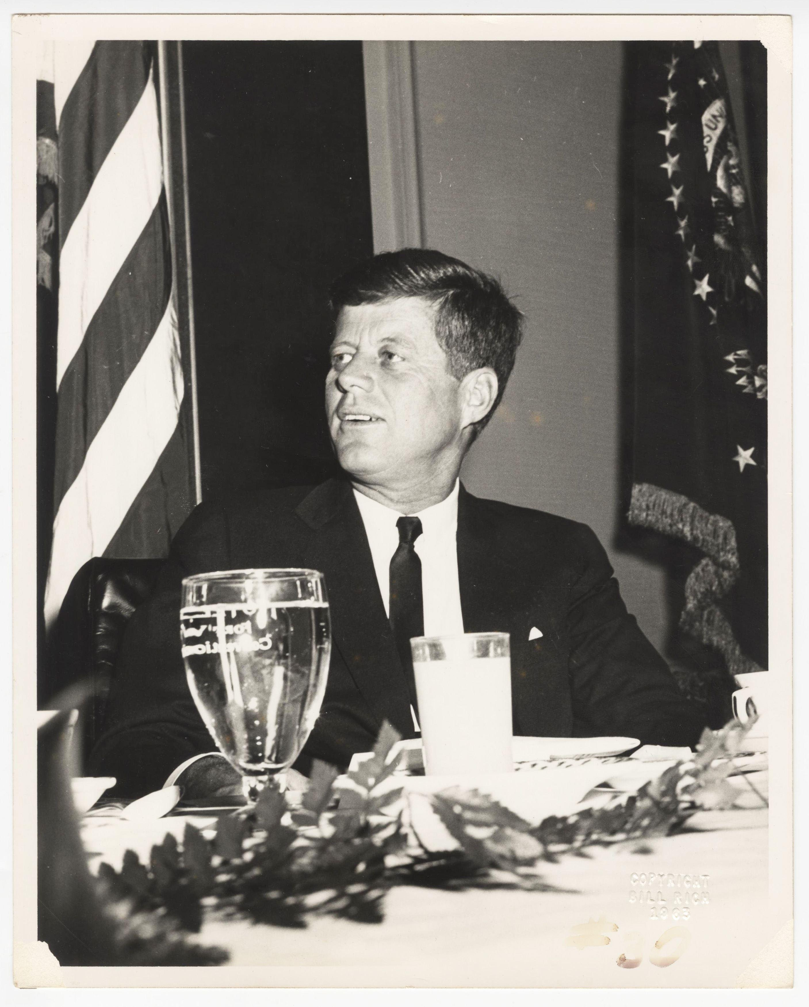 Magnificent JFK Vintage Photograph, Circa 1963