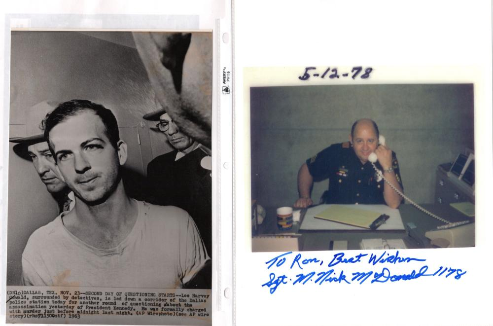 An Archive of Officer Nick McDonald's Role in Capturing John F. Kennedy's Assassin