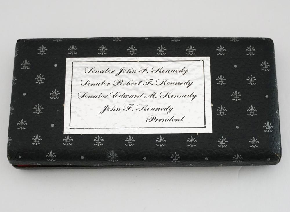 Kennedy Silver Pen Set of Four, Probably Presented by the Kennedy Family to an Important Dignitary