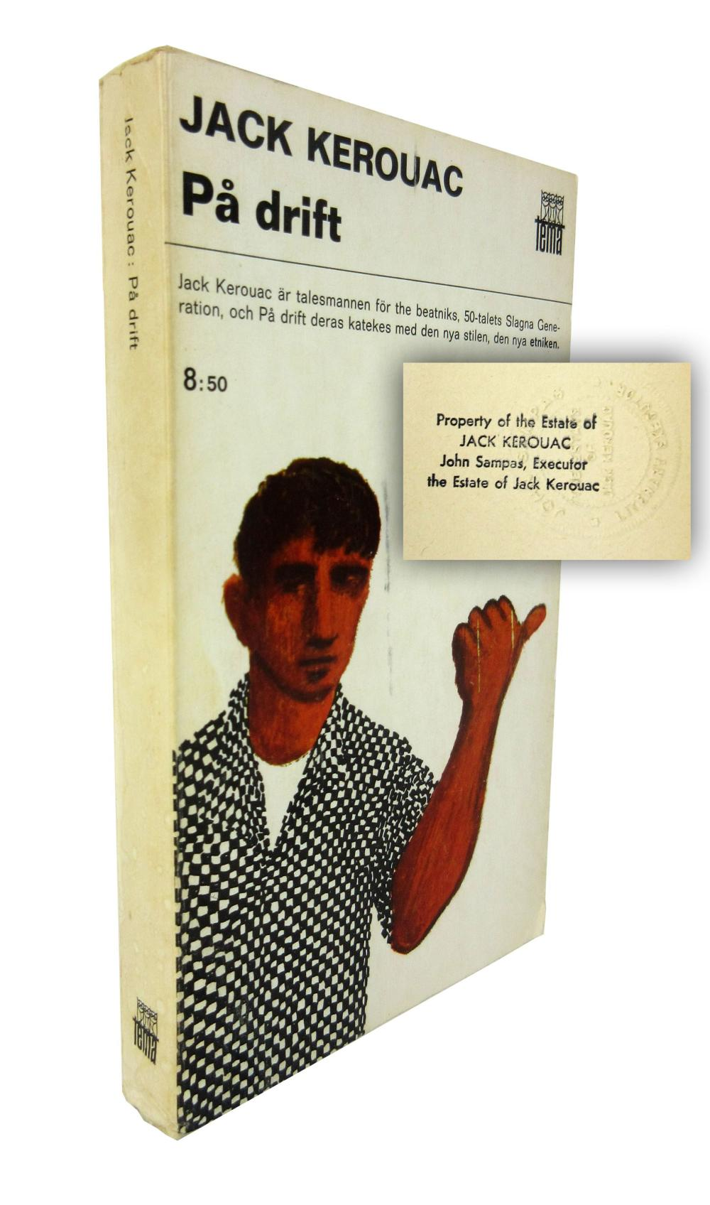 "Jack Kerouac's Personally Owned Swedish Translation of ""On the Road"""