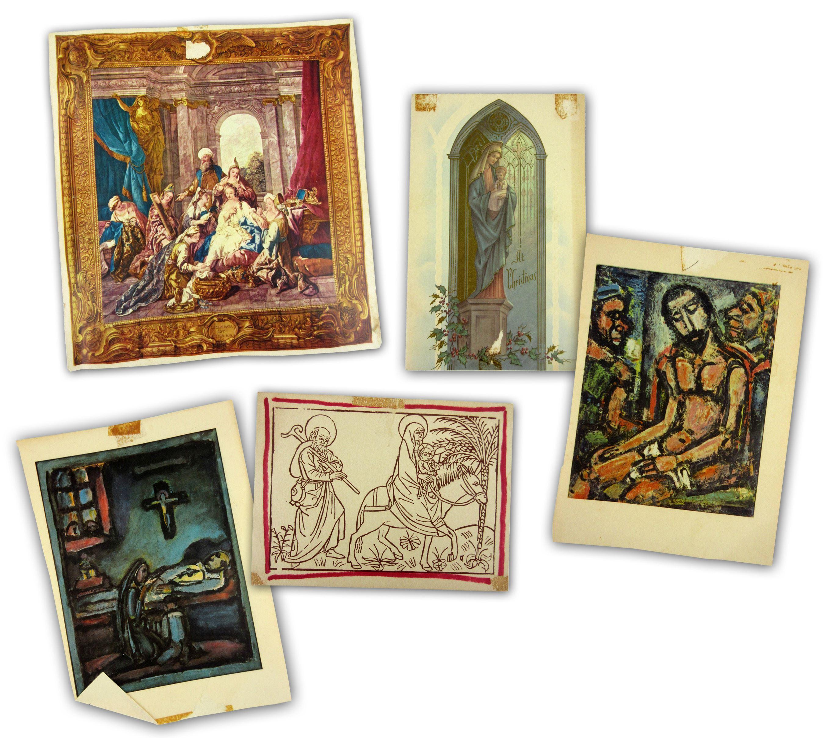 Jack Kerouac's Religious Wall Art, Demonstrating the Importance of his Roman Catholic Faith