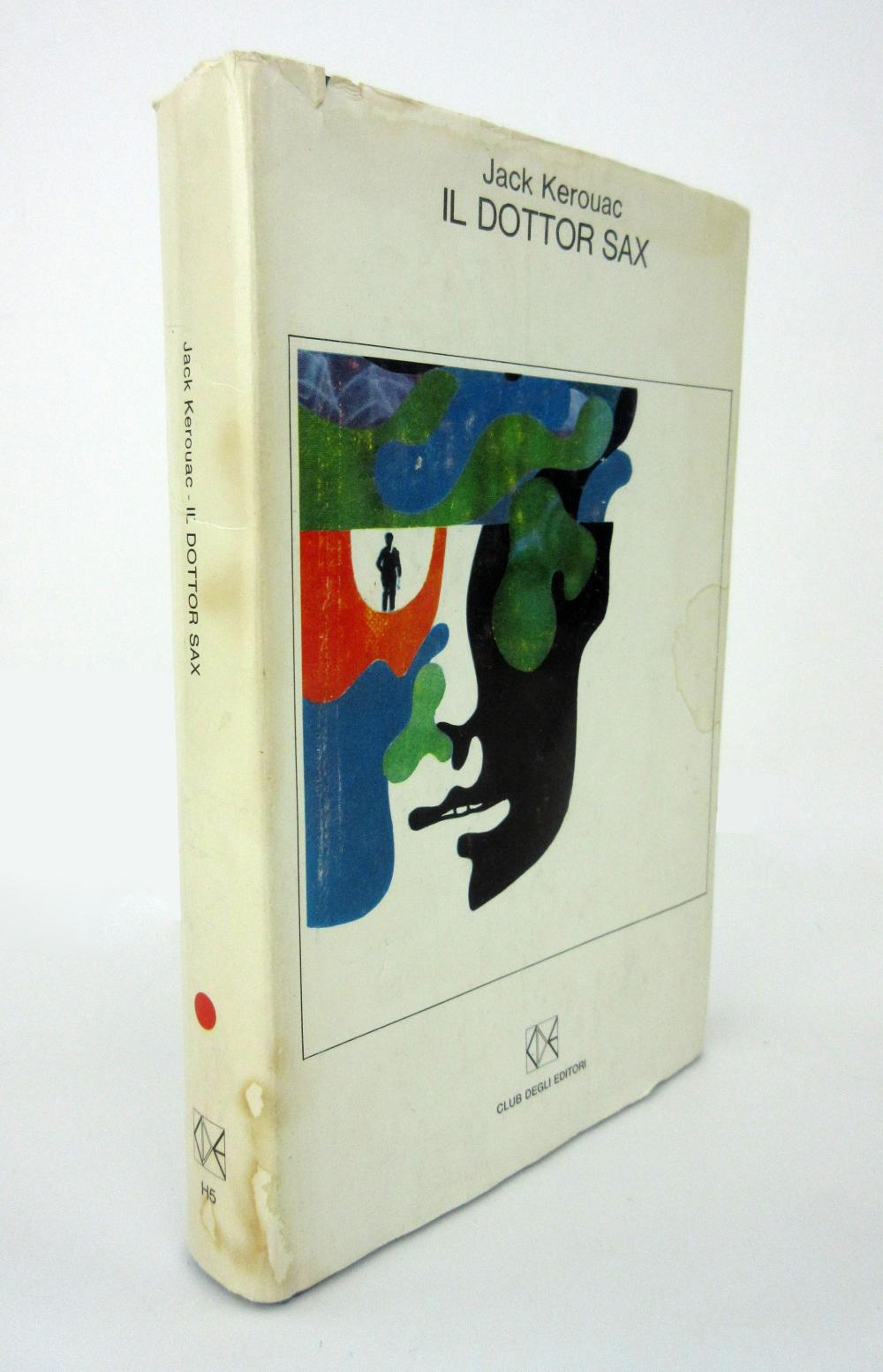 """Jack Kerouac's Personally Owned Italian Translation of """"Doctor Sax"""", Retrieved from his Last Home"""