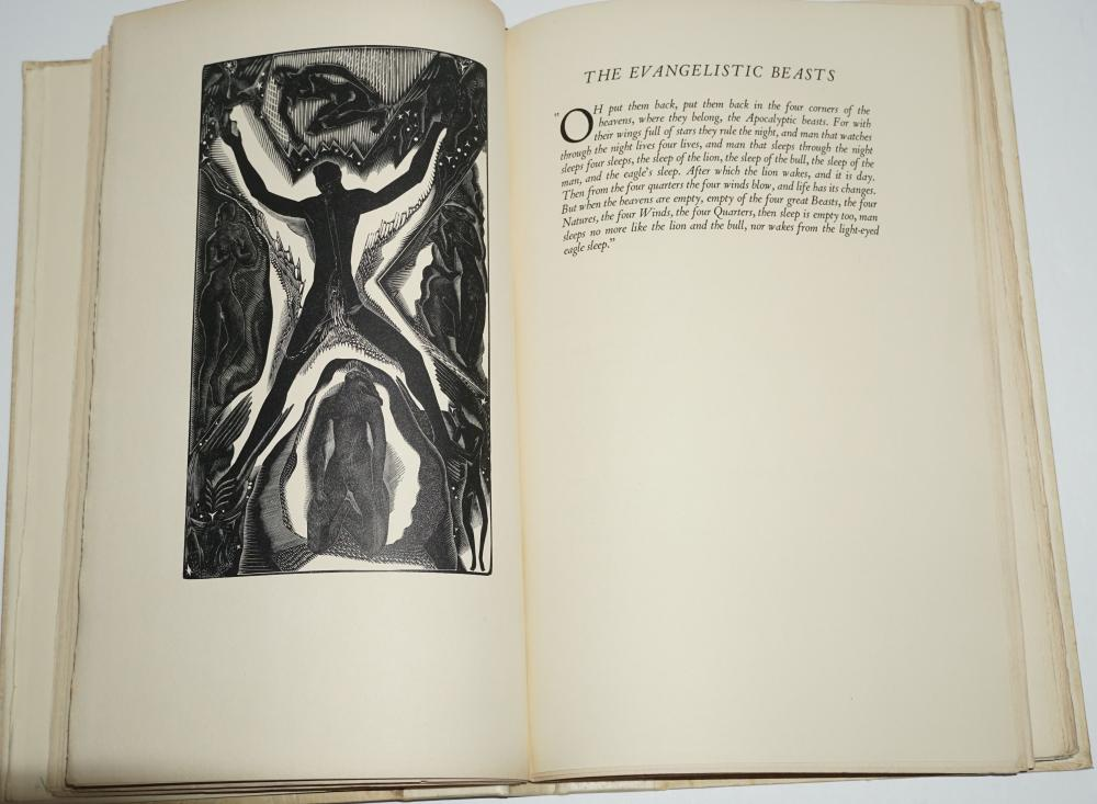 Birds, Beasts and Flowers, D.H. Lawrence, Special Limited Edition From a Run of 500