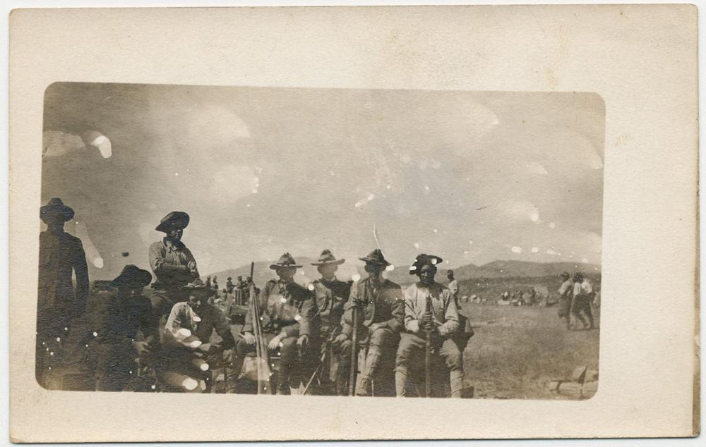 Mexican Revolution & Border War Archive, 7 Pcs