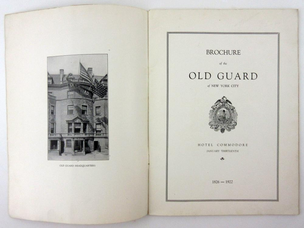 Old Guard of New York Archive Containing 65+ Photographs