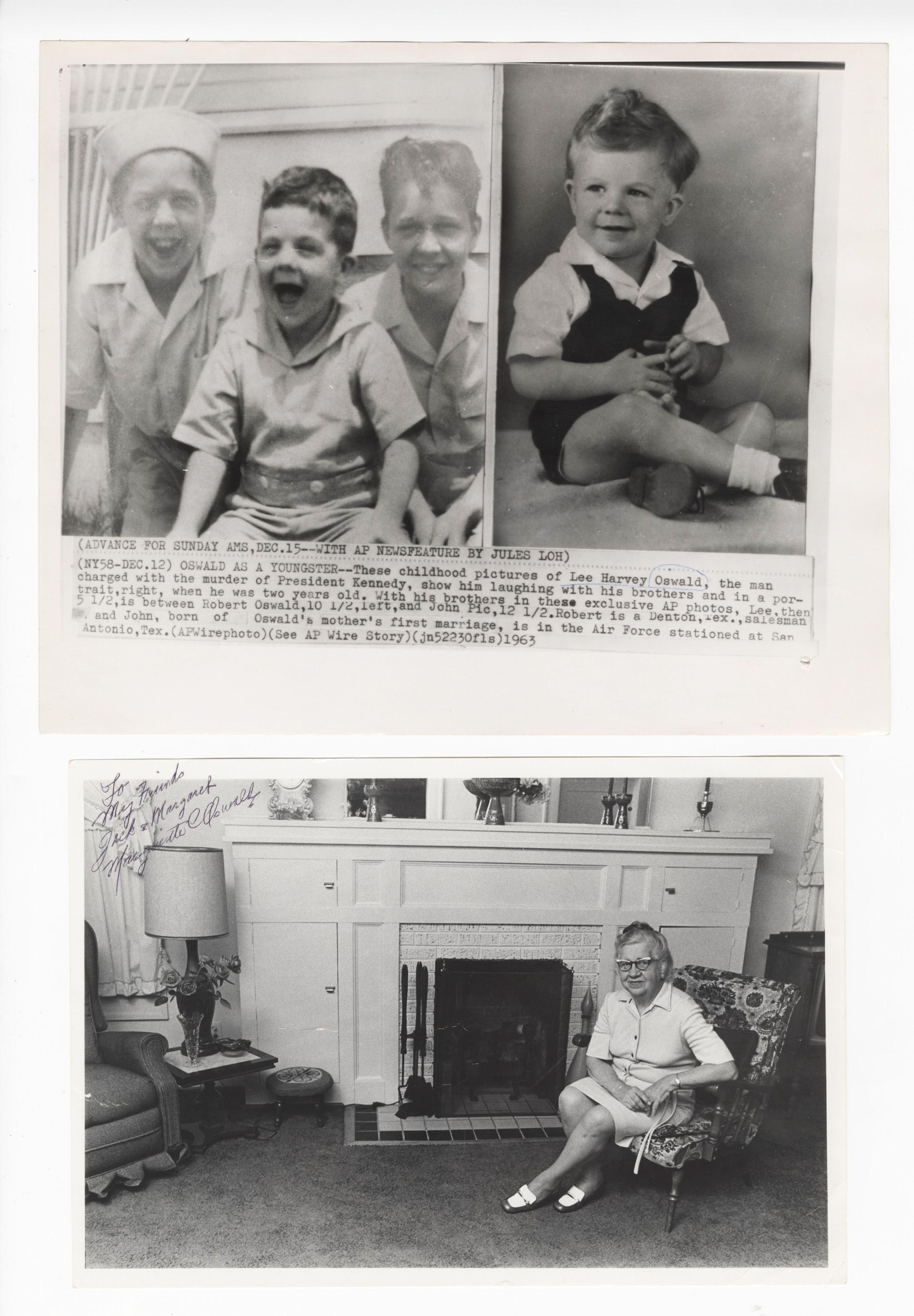 Lee Harvey Oswald And Mom Photographs