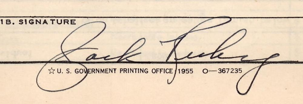 Jack Ruby Signed Checks and Document, with Related Items, 4 Signed
