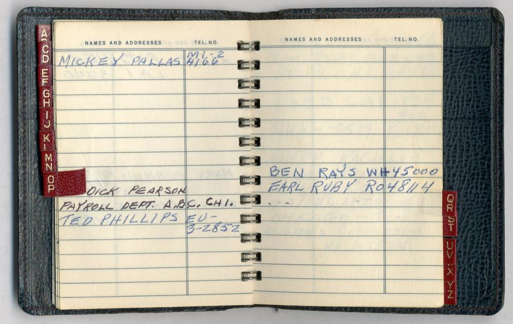 """Jack Ruby's """"Little Black Book"""" -- Amazing Resource for Future Research!"""